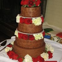 Chocolate Lover This cake was loosely based on the Dave Navarro and Carmen Electra cake, but by the time the bride changed the details, it was quite...
