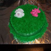 Farm Cake For The Birthday Boy This is the cake for our 1 year old to tear into.