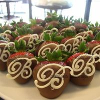 Monogram Strawberries