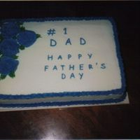 Fathers Day 1/4 sheet. all bc icing