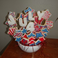 4Th Of July 4th of July cookies