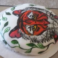 Another View Of The Tiger Cake   another view of my same tiger cake