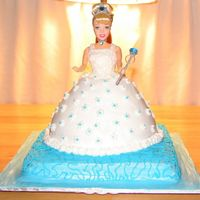 Cinderella I made this cake for a 3 year olds birthday party. I made the cake like the mother requested.She also wanted only butter cream and no...