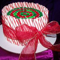 Peppermint_Cake.jpg I needed a quick cake for my son's school nurse.