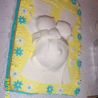 Belly! I just had to try my hand at this one. The cake is lemon with bc. Thanks for the inspiration! Didn't turn out as well as the orignal...