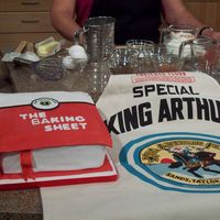 My Television Debut Cake My cake placed for the King Arthur Greatest Cake at the Minnesota State Fair. (The world's second biggest fair.) Then I got to demo it...