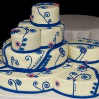 Puzzle Cake Pro Pic By request - a professional picture of my puzzle cake.