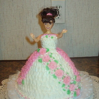 Doll Cake I made this cake for my grandaughter for her 5th Birthday.