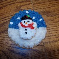 Christmas Cookie sugar cookie with buttercream frosting