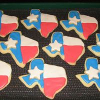 Texas Rodeo Cookies my daughter and I made these cookies for her school rodeo day. we used teh bags of royal icing that you just add water to - made it much...