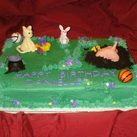 Animals And Sports The mom requested a 14th Birthday cake for her daughter and wanted it to involve animals and specific sports. Thus, the dog is digging a...