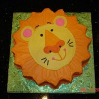 Lion Cake This is one of my favorite cakes. I made this cake for my son's 2nd birthday. He loved it!