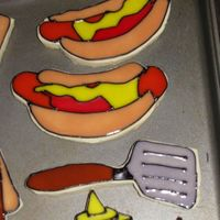 Father's Day Bbq   Made these for FIL for Father's Day.