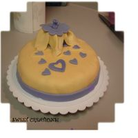 Wilton Gumpaste And Fondant Class final cake!