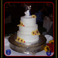Wedding Cake Cake for my niece's wedding.