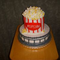 Popcorn_1_005.jpg another popcorn cake. The popcorn is mini marshmallows. I put 3 together to form popcorn.