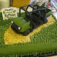 3D Ranger Atv Cake This was for a man's b-day who had just ordered a new Ranger like this one.