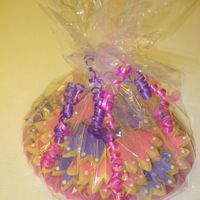 Princess Crown Cookies All wrapped up!
