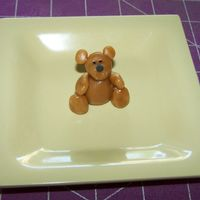 Ted E. Bear Caramel Figure