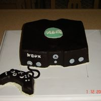 Xbox Cake This cake was for Mary's husband