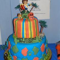 Go Diego Go   For my son's 5th birthday.