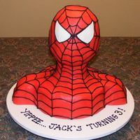 Spiderman Cake Disaster
