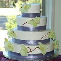 Melissa & Derek's Wedding Cake