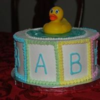 Keterah's Baby Shower Cake