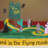 "Wizard Of Oz  One of my favorite movies! I know, ""Send in the flying monkeys"" is not a line from the movie. Made this for a little boy for his..."