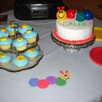 Baby Einstein Cake & Cupcakes I took a level 1 cake decorating class so I could do my son's first birthday cake. In the end I used this tub toy as a cake topper. It...