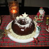 Christmas Ganache Cake My family loves this cake so when everyone requested for Christmas, I had to oblige. The only regret Have is I was too heavy with the white...