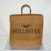 Hollister Shopping Bag