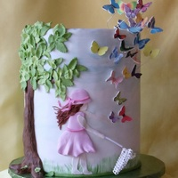 Butterfly Cake In August Issue Of Cake Central Magazine We were so honored to be in the August issue.