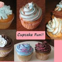 Having Fun With Cupcakes Just practicing my cupcake skills... had a ton of fun doing them with my 3 year old!!
