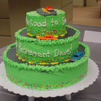 Dave K. Retirement Cake Waukesha Electric Systems