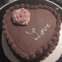 Simple Chocolate Heart