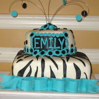 16Th Birthday Cake Here is a picture of one of the largest cakes I have done. Delivered it yesterday, and the mother of the birthday girl was very happy (whew...