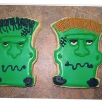 Frankenstein Cookie Frankenstein Cookie for Halloween Party 1- of 7