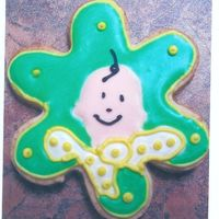Baby Face Cookie For Thank You This is 1 of 7 cookies for a Baby Shower. The mother to be wanted to have them bagged and labelled for Thank You's for her guests. No...