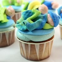 Baby Shower Cupcakes For Baby Zak