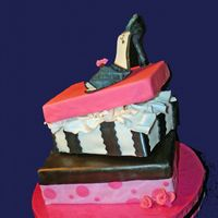 My Attempt At A Shoe Cake thank you thank you to all of you who made these before and did such a beautiful job and a special thanks to Boonenati for the shoe...