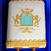 Torah Book Cake Made this cake for a Bar Mitzvah celebration