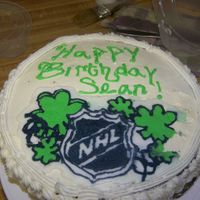 Nhl St Patricks Day Hockey Puck Logo So this was my first FBCT not that bad if i may say so myself. The pattern was pulled from the NHL website, they Birthday boy is IRISH (and...