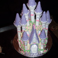Castle Cake I made this cake for a friends' daughter's birthday. Normally this wouldn't have been a challenge, but I was asked to use a...