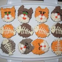 Kitty Cat Cupcakes Make these according to the Hello, Cupcake! book recipe. Easy, fun and tasty!