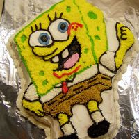 Sponge Bob Here is the Sponge Bob Cake that I made for Cindy Montague's grand son