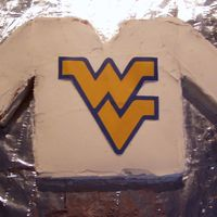Wvu Jersey I did the WVU Jersey fro my brother inlaws birthday. There was a big WVU game that day : )
