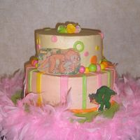 Lilys 3Rd Birthday This is my attempt at the awesome cake I found on Butterflysweets.com my granddaughter wanted a Land Before Time birthday so we wanted to...
