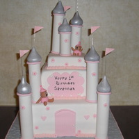 Castle Cake Directions from Pink Cake Box