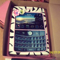Blackberry Phone cell phone cake
